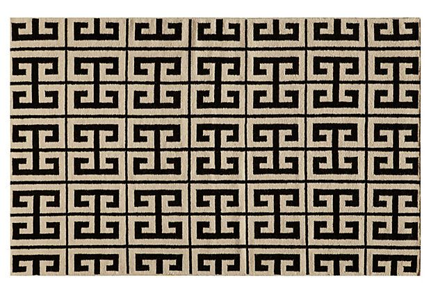 Donna Flat Weave Rug Black On Onekingslane Com Carpets