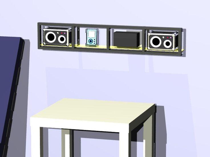 Etagere cd ikea affordable r bibliothque en htre by kann design design nicola santini pier - Etagere cd ikea ...