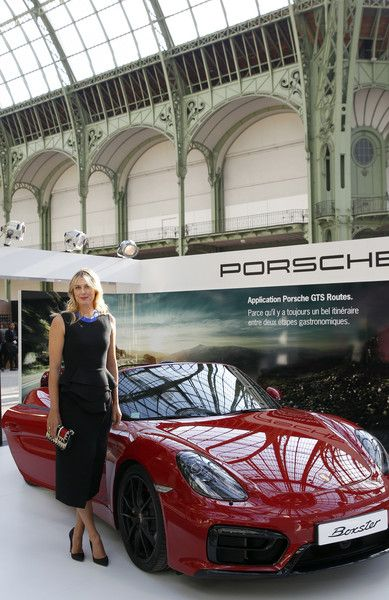 Maria Sharapova Photos - Porsche Brand Ambassador Maria Sharapova at the 'Taste of Paris' Event In Paris - Zimbio