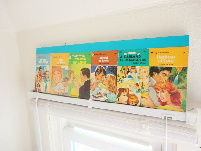 Vintage Romance Novel Wall Decor | DIY Quickie
