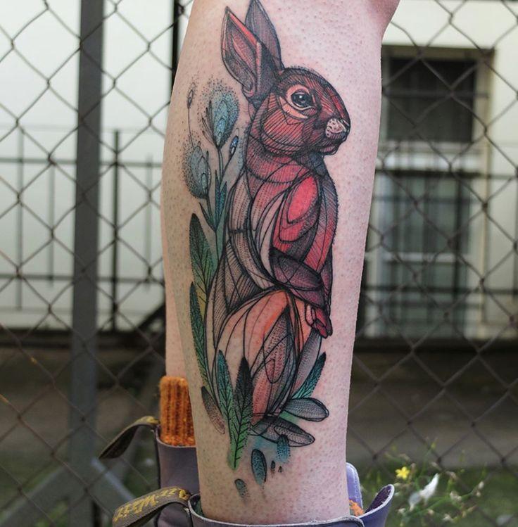 Best 25+ Bunny Tattoos Ideas On Pinterest