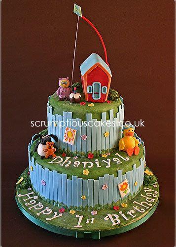 timmy time cake - sooooo cute!
