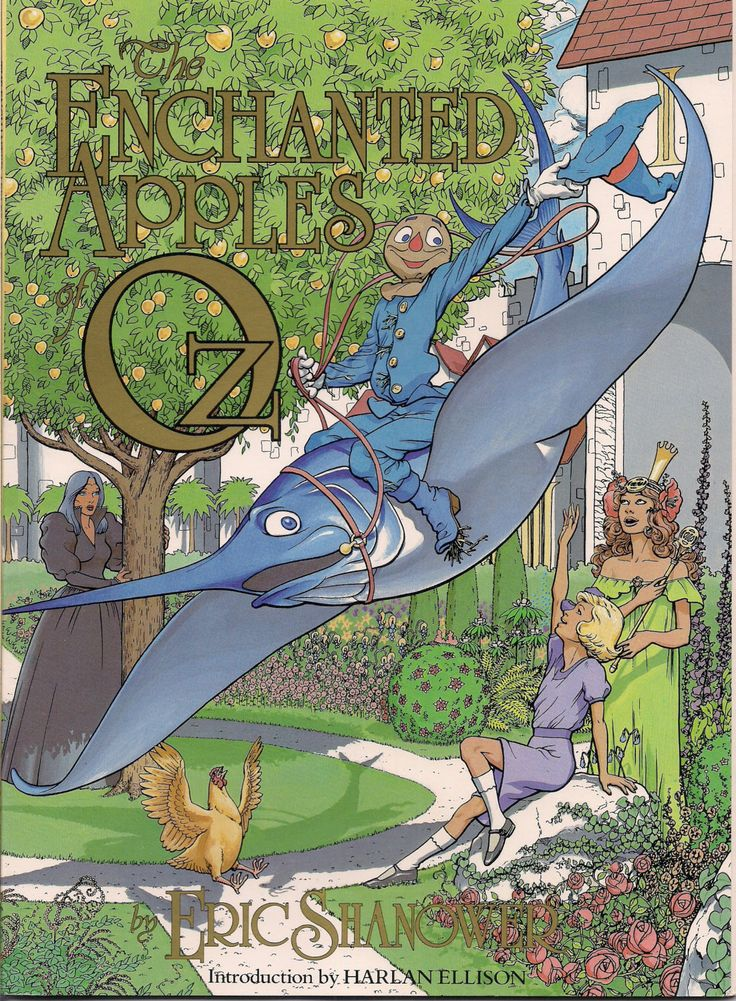 The Enchanted Apples of OZ Eric Shanower Signed First Comics Harlan Ellison 1986 Continuing Re-Imaginging the L FRANK BAUM Fantasy Universe