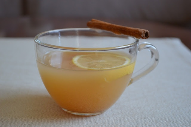 Spicy Ginger Apple Hot Toddy | Christmas | Pinterest