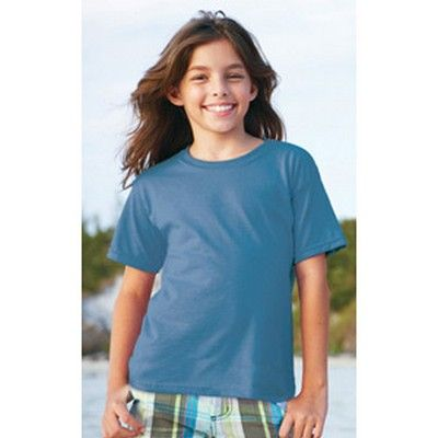 Youth Cotton T-shirt Coloured Min 25 - A ultra tight knit surface kids shirt with double needle sleeves and bottom hem. http://www.promosxchange.com.au/youth-cotton-tshirt-coloured/p-8393.html