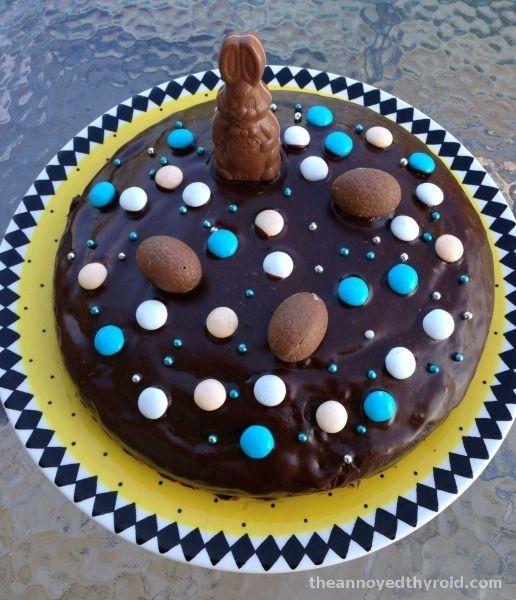 Thermomix Naughty Chocolate Fudge Cake