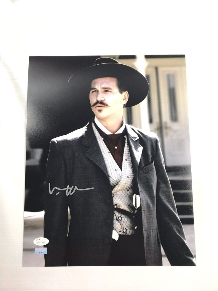 Val Kilmer Authentic Signed 11x14 Autograph Photo JSA COA Tombstone Picture 2