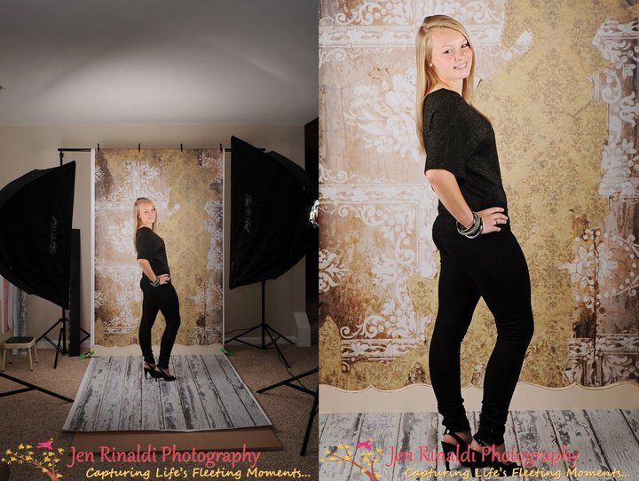 Lovely Behind The Scenes At Jen Rinaldi Photographyu0027s Studio With Photo Prop Floors  U0026 Backdrops ...