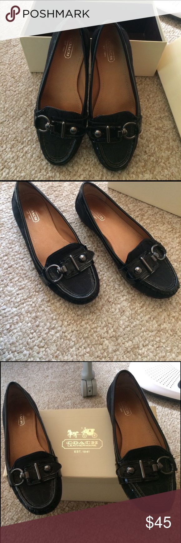 Coach flats Coach flat shoes size 6 Coach Shoes Flats & Loafers