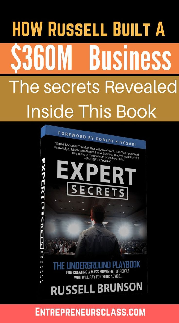 Russell Brunson Expert Secrets Book Review Expert Secrets: The Underground Playbook for Creating a Mass Movement of People Who Will Pay for Your Advice by Russell Brunson.This Entrepreneur Built A $360 Million Dollar SaaS Business, And It Was Entirely Self-Funded. #startup #onlinebusiness #followback #entrepreneur