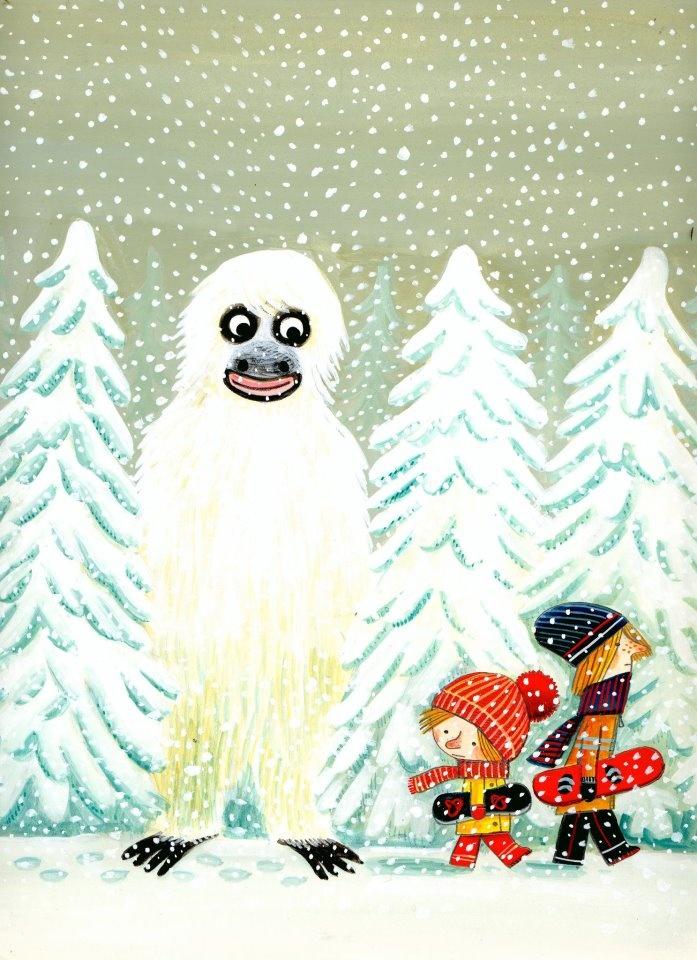 Benjamin Chaud.  So Great!  http://valesulfilo.wordpress.com/2011/10/06/une-chanson-dours/