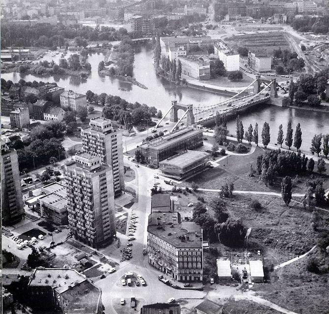 Jadwiga Grabowska-Hawrylak, osiedle Plac Grunwaldzki, Wrocław, 1967-1975
