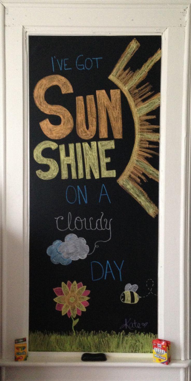 My July Chalkboard Art!