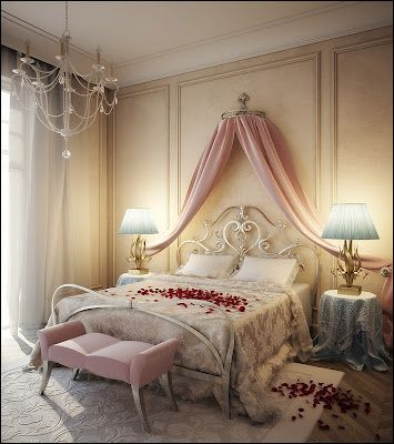 desain+kamar+tidur+romantis.