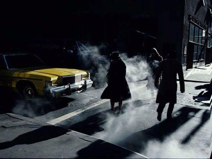 Ernst Haas (1921 - 1986) - Crosswalk, New York, 1980