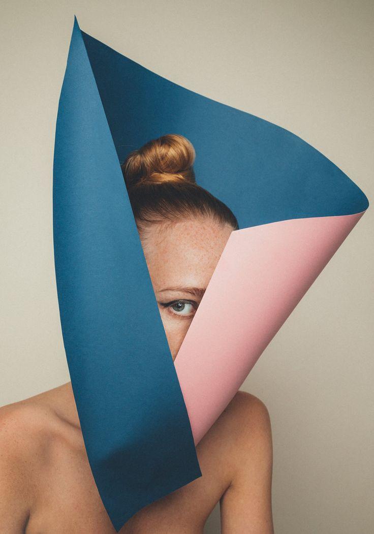 Kristoffer Marchi Playful Paper Art Portraits | Trendland