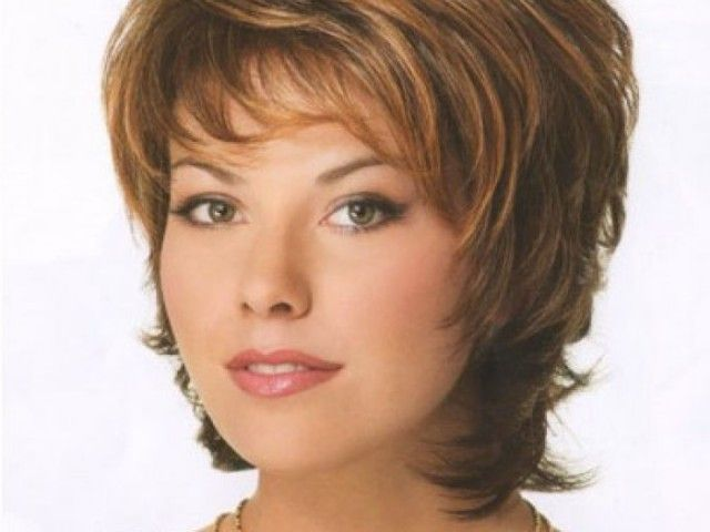 Plus Size Short Hairstyles For Women Over 40
