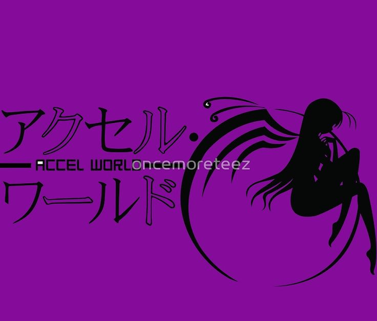 Accel World Logo Anime and Manga