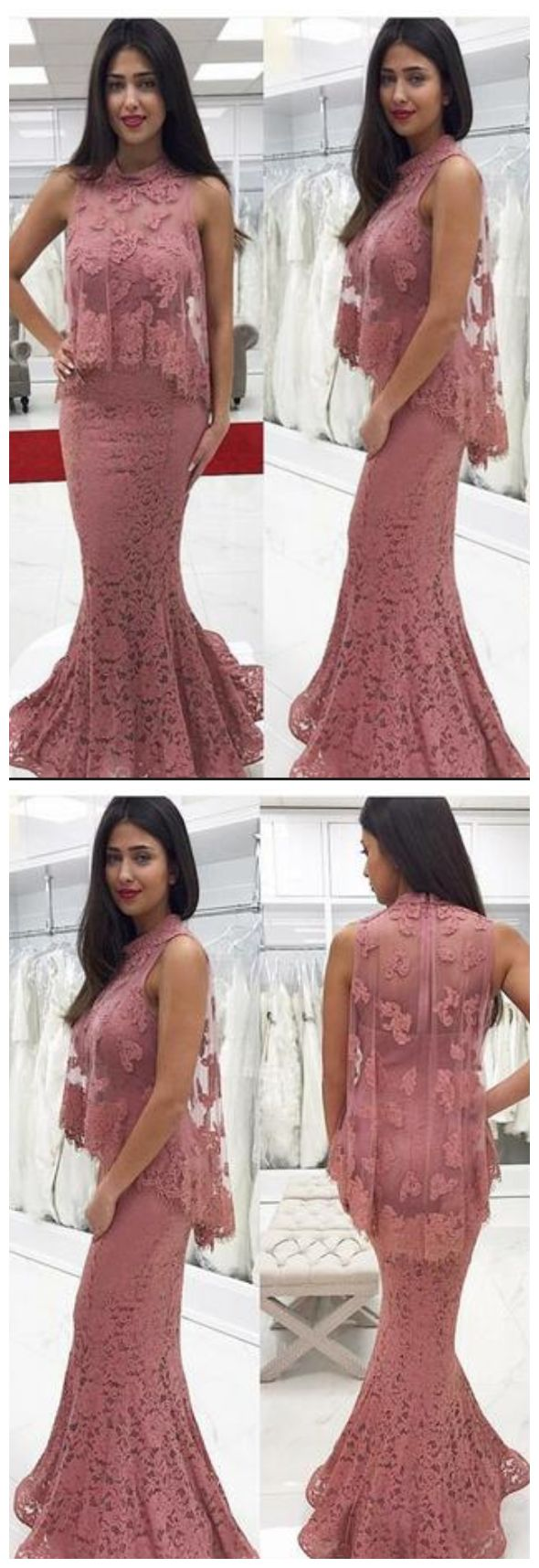 Lace Applique Formal Evening Dresses, Party Gown#prom #promdress #dress #eveningdress #evening #fashion #love #shopping #art #dress #women #mermaid #SEXY #SexyGirl #PromDresses