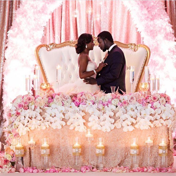 African American Wedding Ideas: What A Sweet ! Planner: @raeaffairs