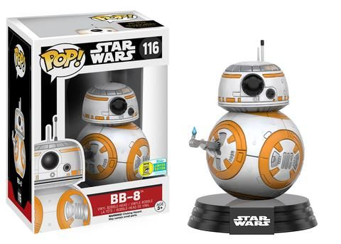 2016 San Diego Comic-Con Exclusives: Wave Eight!! | Funko  Pop! Star Wars: The Force Awakens - Thumbs Up BB-8