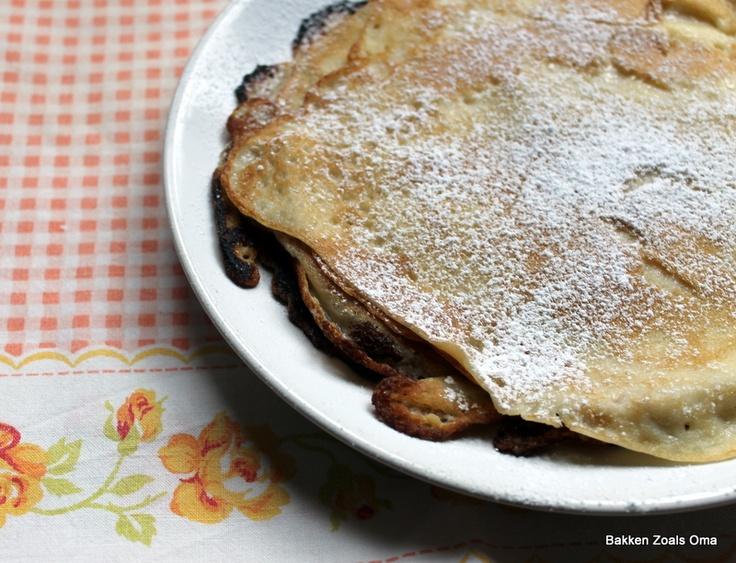 Bakken zoals Oma: Zweedse pannenkoeken