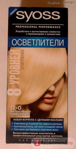 Осветлитель для волос SYOSS 12-0 фото