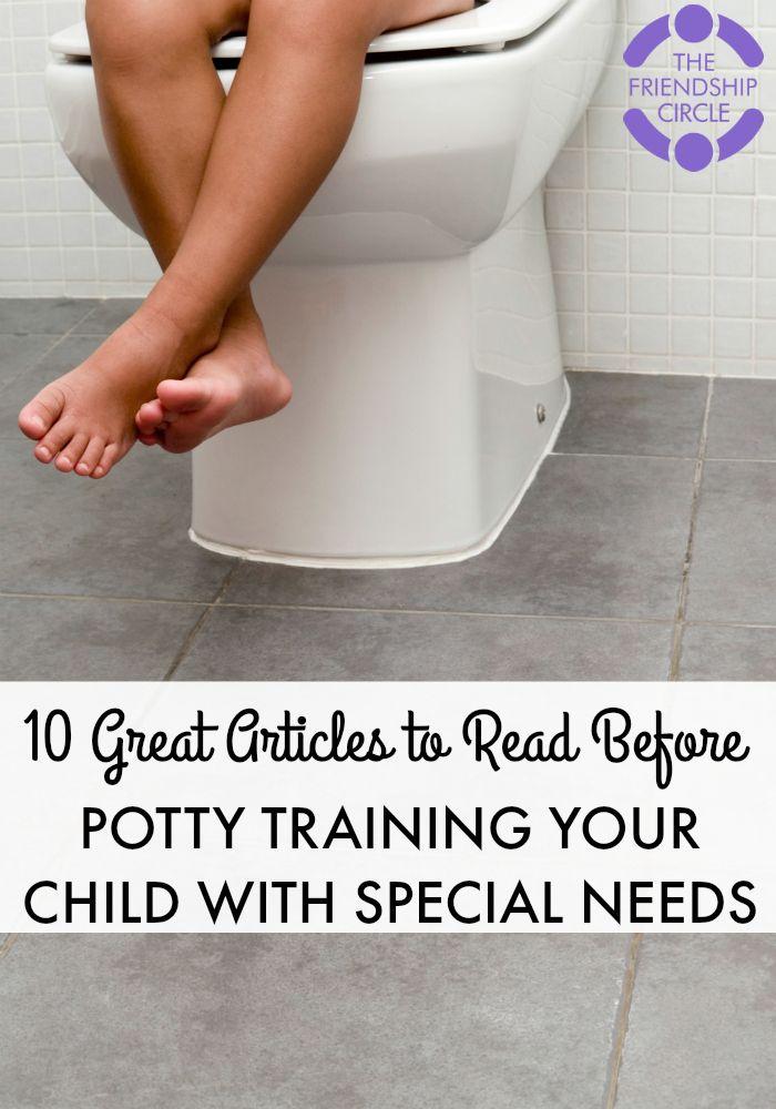 Potty Training Your Special Needs Child  WonderBabyorg