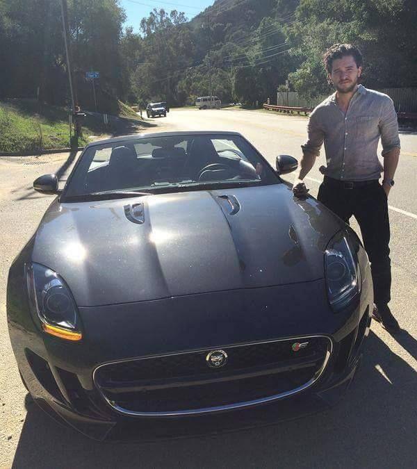 Photo of Kit Harington Jaguar - car