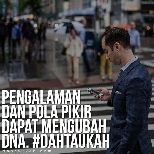 Pengalaman dan pola pikir dapat mengubah DNA. #dahtaukahfact #dahtaukah