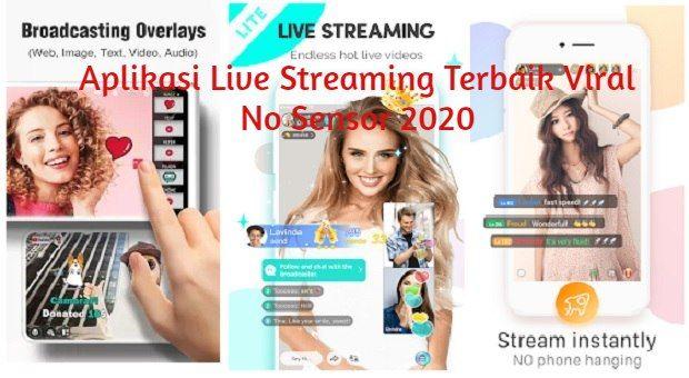 Pin Di Aplikasi Live Streaming Viral No Sensor