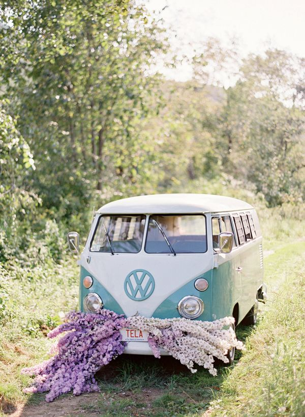 Wedding VW Bus