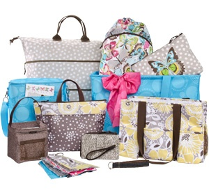 Thirty-One!  I love their Wristlet purses, that's my thing right now   :o)