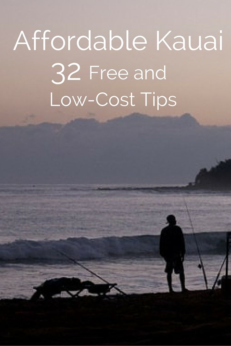 Affordable Kauai – 32 Free and Low-Cost Tips. Here's your budget travel guide for one of the most beautiful Hawaii islands. Sun. Sand. Mountains. A beach at every turn. It's the good life. http://solotravelerblog.com/budget-kauai-32-free-low-cost-tips/