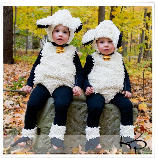 How to Make a Sheep Costume | How To Make Sheep Costumes For Kids