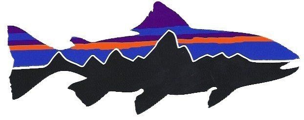 Patagonia Fitzroy Trout Sticker