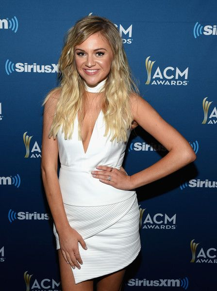Singer Kelsea Ballerini poses at SiriusXM's The Highway Channel broadcast backstage leading up to the Academy of Country Music Awards at T-Mobile Arena on March 31, 2017 in Las Vegas, Nevada. - SiriusXM's The Highway Channel Broadcasts Backstage Leading Up To The American Country Music Awards at the T-Mobile Arena