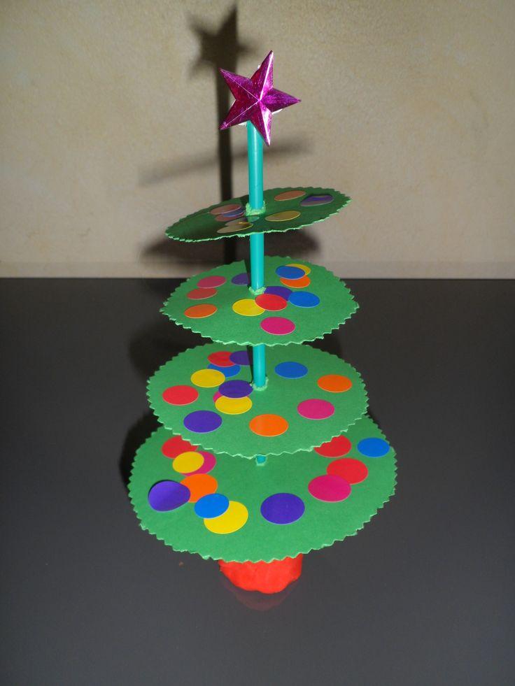 * Makkelijke kerstboom!