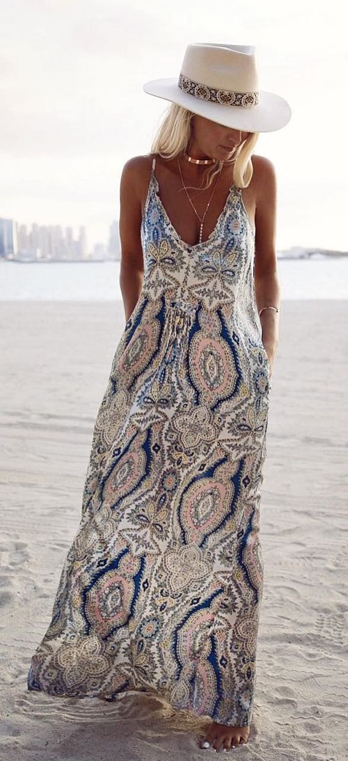Boho Style Maxi - Bring on Summer so we can wear this gorgeous dress!!!