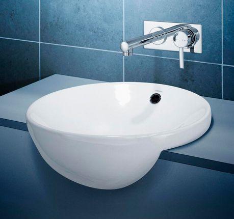 Caroma Leda Vasque Semi-Recessed Basin.  Model 661148.