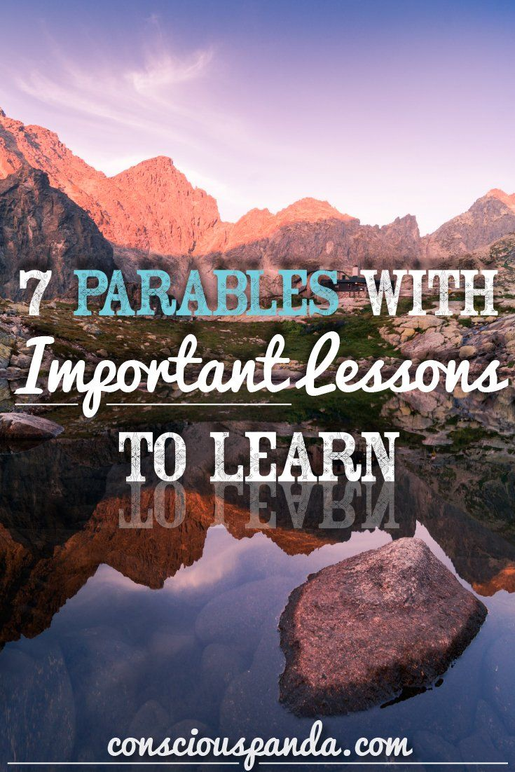 7 Parables with Important Lessons to Learn