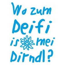Wo is mei Dirndl?