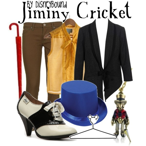 Jiminy Cricket, created by lalakay