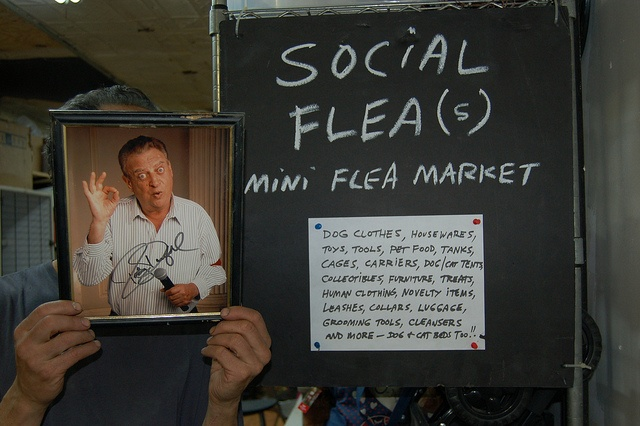 """The """"Social Flea(s)"""" mini flea market! Inside our shelter every day. Great prices on new and used pet gear, collectibles, and more! by Social Tees Animal Rescue, via Flickr"""
