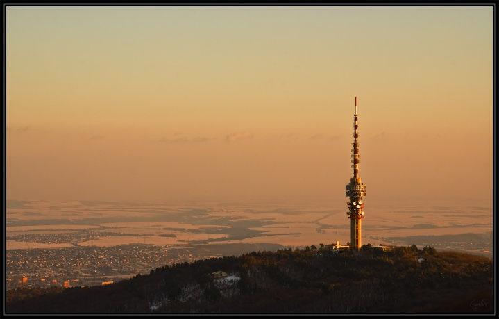 Pécs, Hungary TV tower