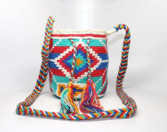 Mini Wayuu Achira Mochila by Bluevitasw on Etsy