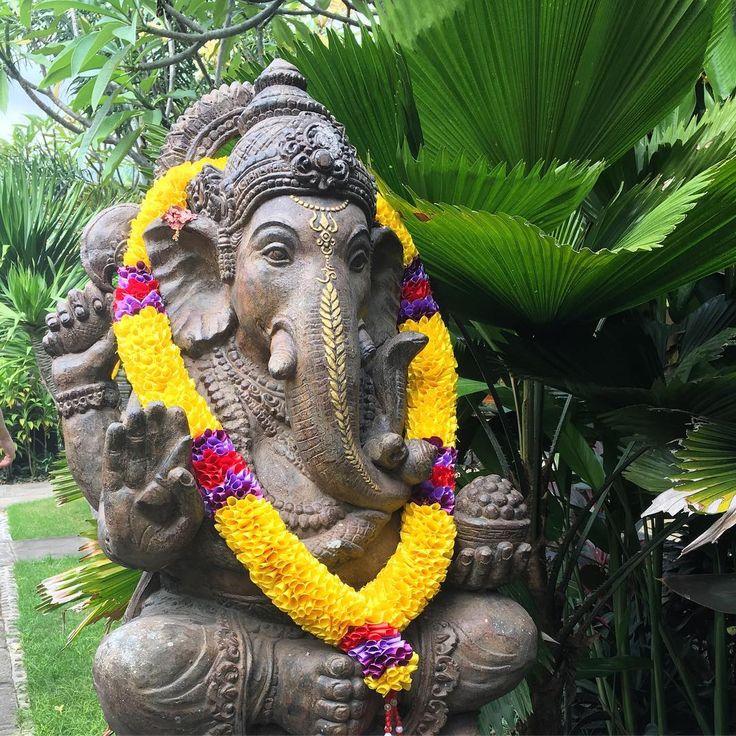 Ganesha - God of New Beginnings Trijaya Guest House, Banyuwedang beach, Bali, Indonesia.