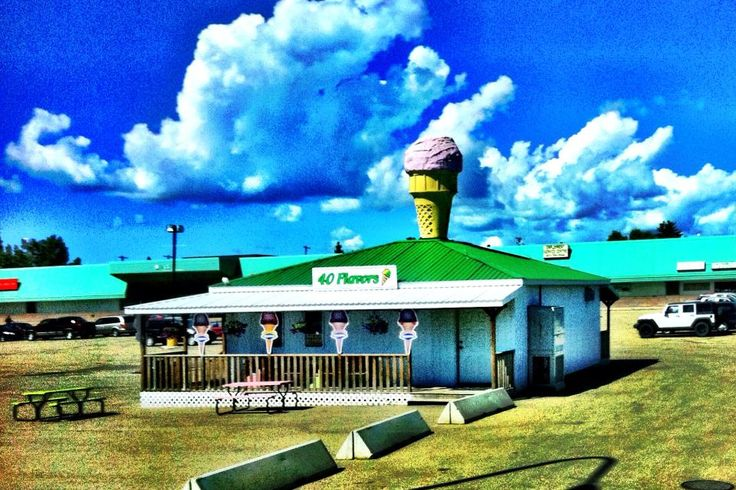 ONLY 40 Flavors ??!! Lacombe, AB....Canada