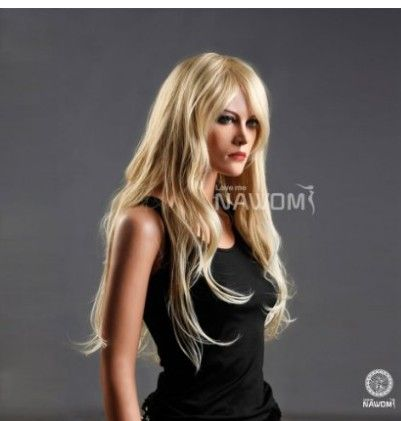 Harajuku Anime Wig Cosplay Women Sexy Full Long Curly Wavy Costume Party Synthetic Hair Blonde Wigs Female Sexy Perucas Pelucas