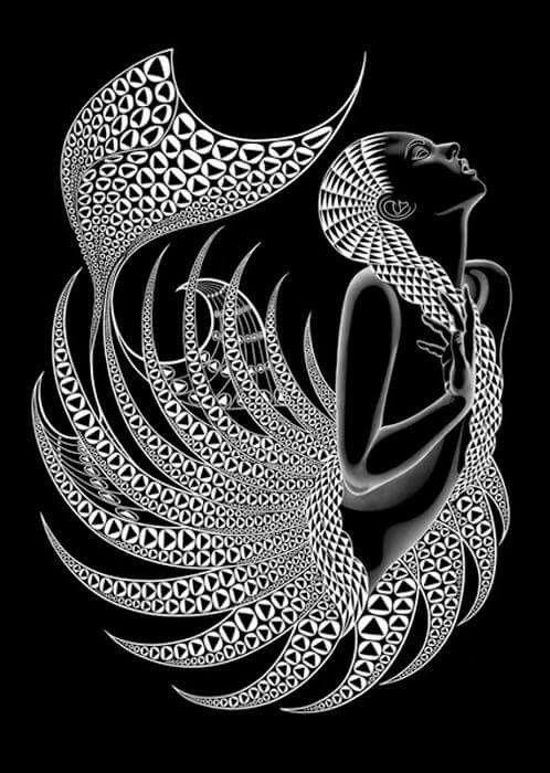 Unique Mermaid Art